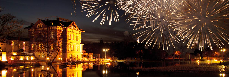 Silvester feiern in der Villa Haage im Kressepark Erfurt